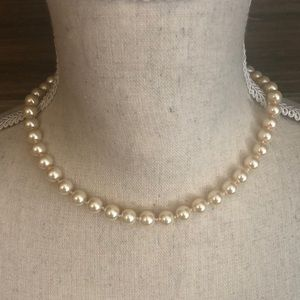 ❤️ New Charter Club Glass Pearl Like Necklace ❤️